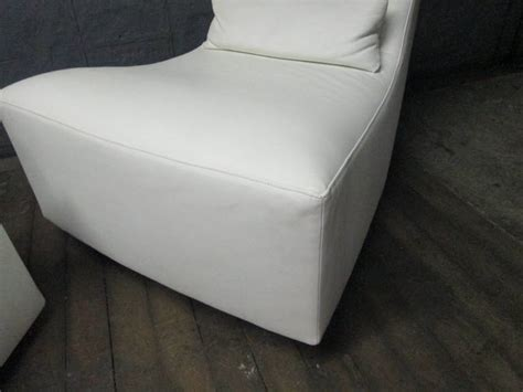 leather lounge chair and ottoman by ligne roset at 1stdibs
