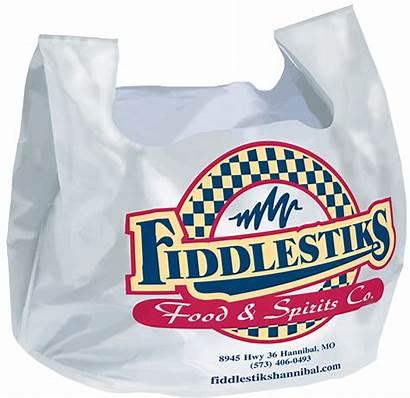 Bags Shirt Restaurant Bag Take Carry Custom