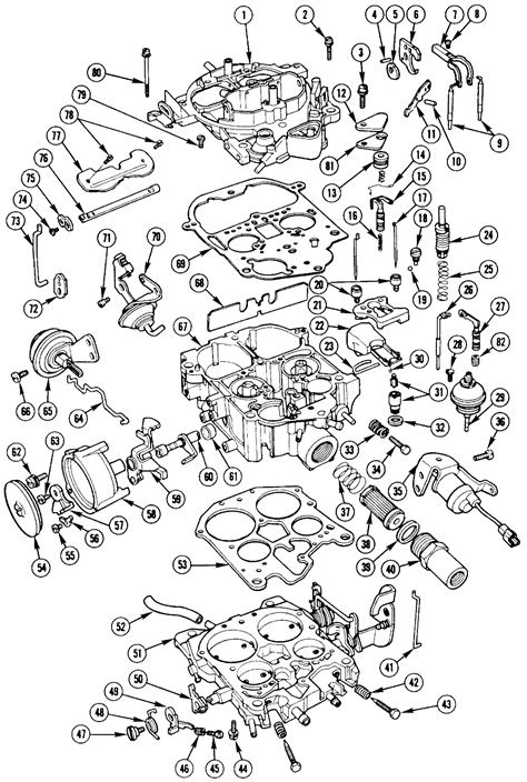 Repair Guides Carbureted Fuel System Rochester Mme