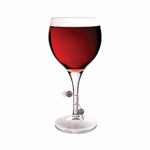 Beaded Stemware Wine Charms by Blush (Set of 6)   Elegant ...