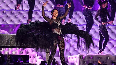Cardi B Performs at the 2019 Grammys - Variety
