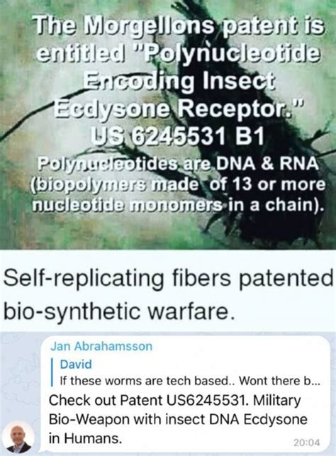 Morgellons – no comment needed | Mask Covid Info