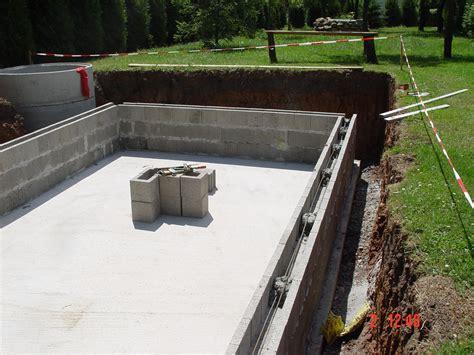 pool selber mauern pool selber bauen archive pool selbstbau