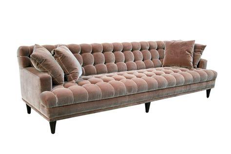 Tufted Velvet Sofa Bed by Mid Century Tufted Velvet Sofa At 1stdibs