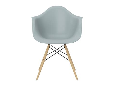 Buy The Vitra Daw Eames Plastic Armchair Yellowish Maple