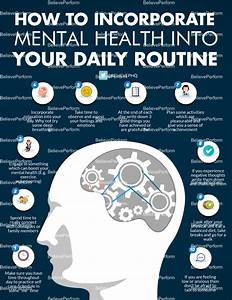 How To Incorporate Mental Health Into Your Daily Routine - Believe Perform