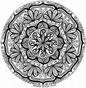Schwieriges Profi Mandala MandalaMalspiel