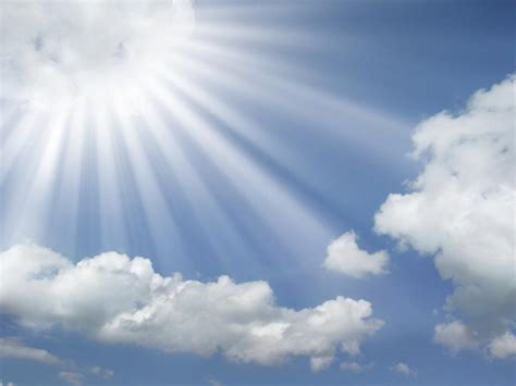 The Lord Of Blue Sky god smiling on us what a wonderful world