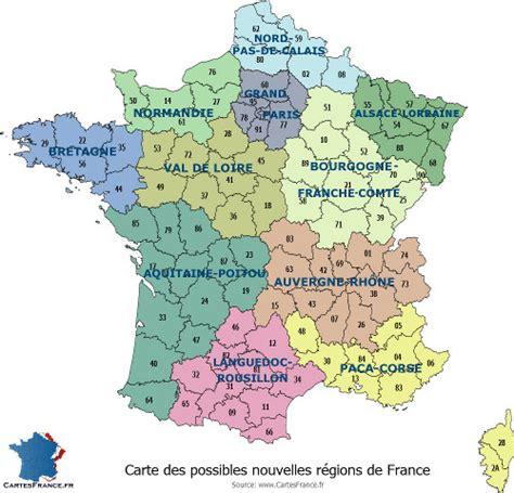 bureau du premier ministre carte de region carte des régions françaises