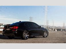 2015 BMW 550i Curva Wheels C47 Machined Black YouTube
