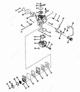 Mercury  Mariner 18  Carburetor Assembly Merc 25
