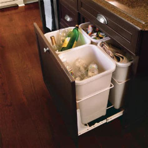 kitchen recycling center recycling center organize your kitchen southern living