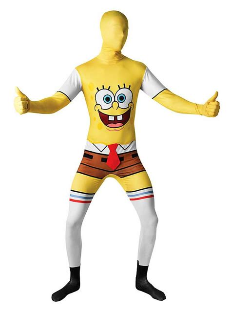 spongebob squarepants full body suit maskworldcom