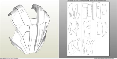 foamcraft pdo file template  iron man mark