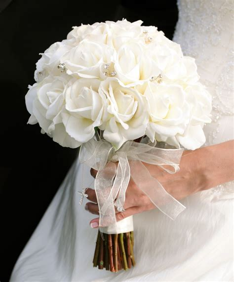 wedding bouquets silk flowers  wedding bouquets
