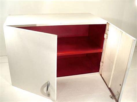 Vintage Metal Wall Cabinet  Industrial Utility Cupboard
