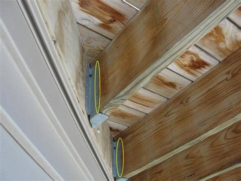 Deck Joist Hangers Corner by Photos From New Construction Home Inspections Part Ii