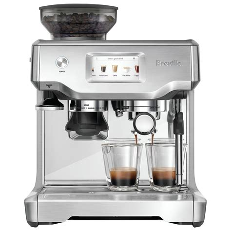 Breville Barista Touch Automatic Espresso Machine With Froth And How To Make Espresso For