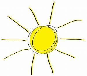 Sunshine Half Sun Clipart 2