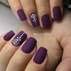 Nail Art #1288 | Nail nail, Business nails and Purple nail art