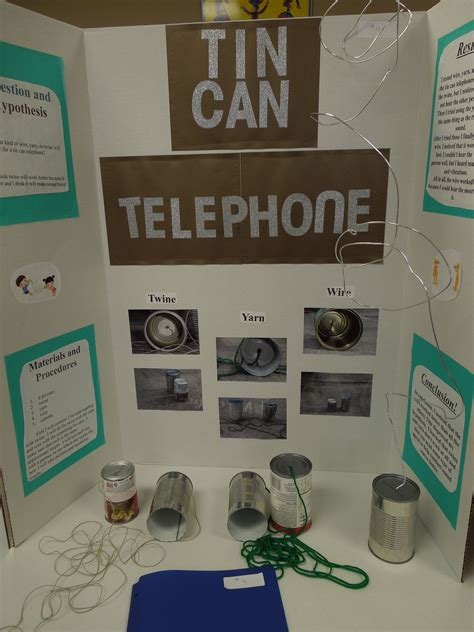 Fourth And Fifth Graders Participated In A Science Fair
