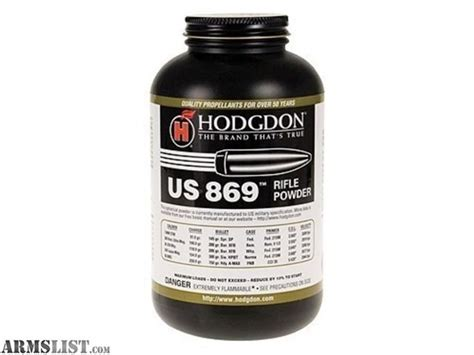 50 Bmg Powder by Armslist For Sale Hodgdon Smp 869 50 Bmg Powder Ftf