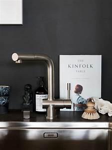 cuisine noir c39est noir la tendance qui monte joli place With amazing meuble cuisine maison du monde 2 mettez du noir dans la cuisine joli place