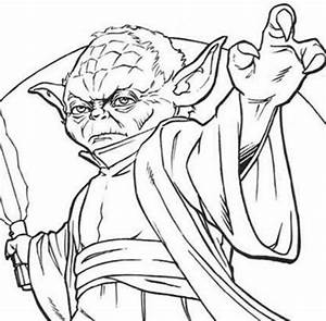 star wars yoda coloring pages - star wars coloring pages