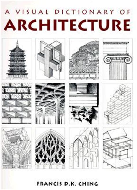 visual dictionary  architecture  francis dk ching