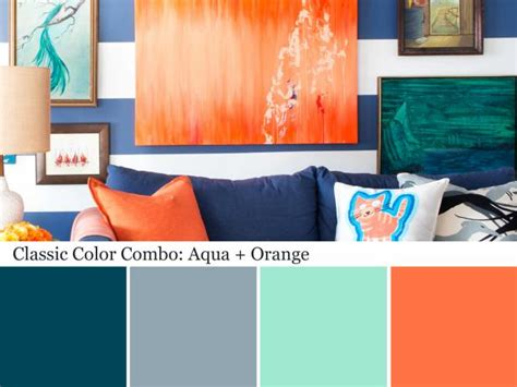 Aqua Colored Home Decor: Color Palette And Schemes For Rooms