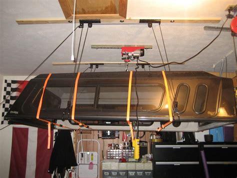 ez truck topper storage device garage journal board storage pinterest truck