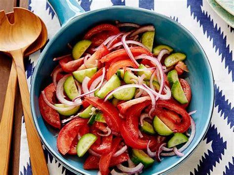 tomato onion  cucumber salad recipe rachael ray