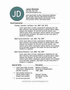 12 resume templates for microsoft word free download for Www resume template free