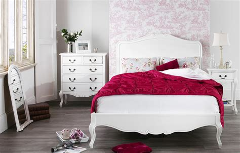 juliette white shabby chic bedroom furniture