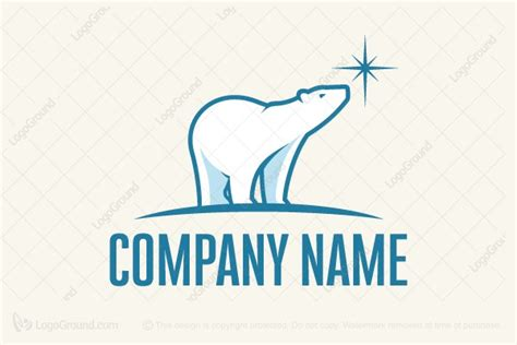 20 Great Polar Bear Logo Designs