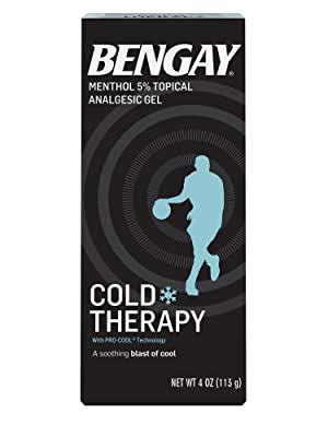 Amazon.com: Bengay Cold Therapy Pain Relief Gel with Pro