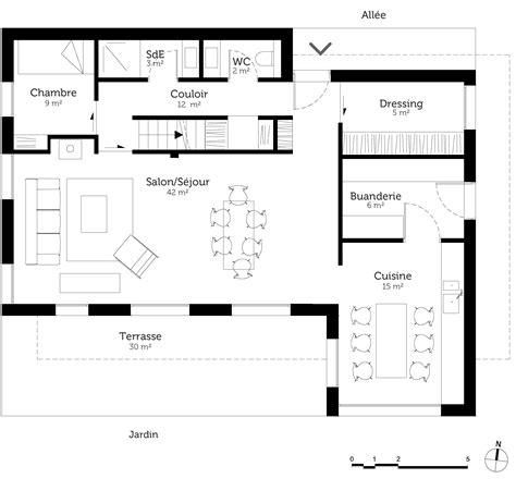 les 3 chambres plan maison à étage avec 5 chambres ooreka