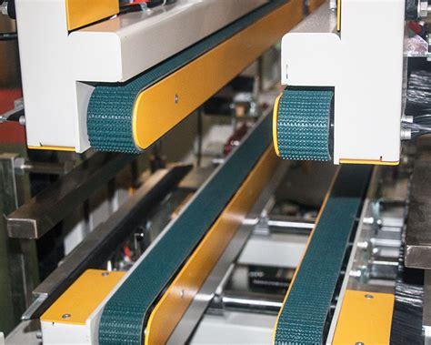 semi auto side  corner sealing machine gpg  packaging equipment