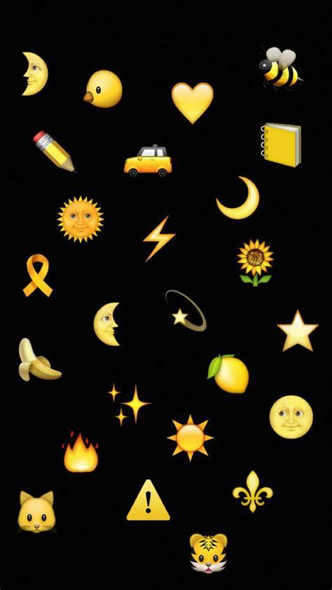 pin   prinsloo  yellow emoji wallpaper emoji