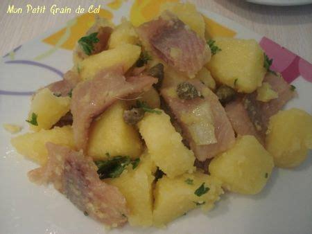 cuisiner le hareng fumé salade de pomme de terre aux hareng fumé sucre cel