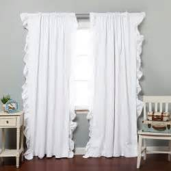white ruffle curtains target wonderful blackout curtains target for home decoration