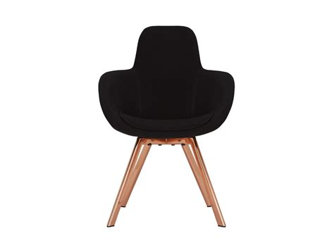 buy the tom dixon scoop high copper chair at nest co uk