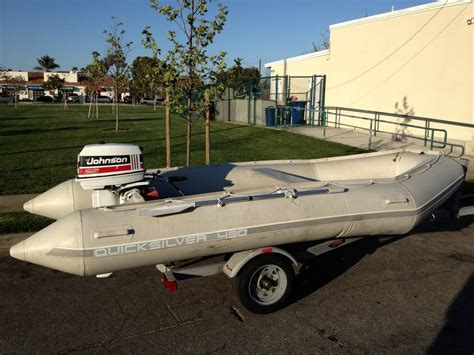 Inflatable Boat For Sale Craigslist by Zodiac Quiksilver 14 Inflatable Boat For Sale Saltwater