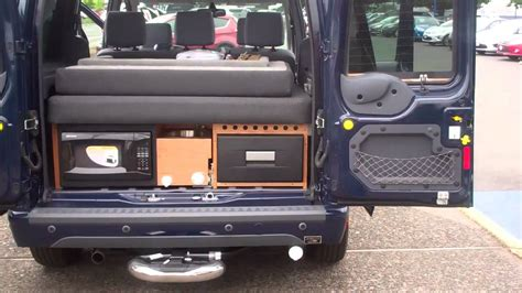 transit connect rv conversion  dual rear  side