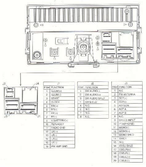 Looking For Pin Diagram Double Deck Radio Ford