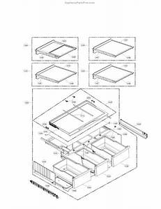 Parts For Lg Lmxs30776s  03  Refrigerator Parts