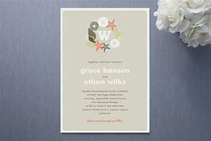 picture of likable beach wedding invitations With minted beach wedding invitations