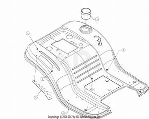 Mtd 13wn77ss031  Lt4200   2017  Parts Diagram For Fender