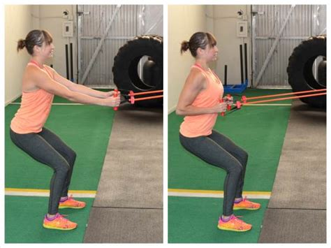 row band resistance exercises arm strength stay traveling while anchor shape doorway around chest