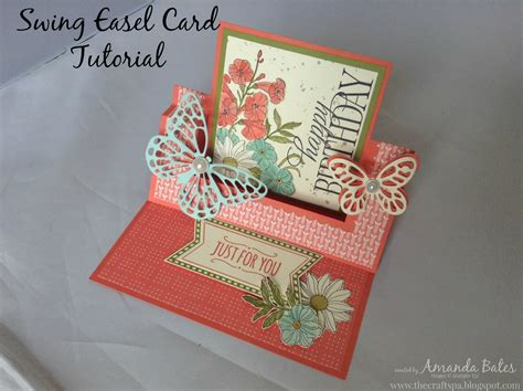 swing tutorial cards folds on swing card pop up and